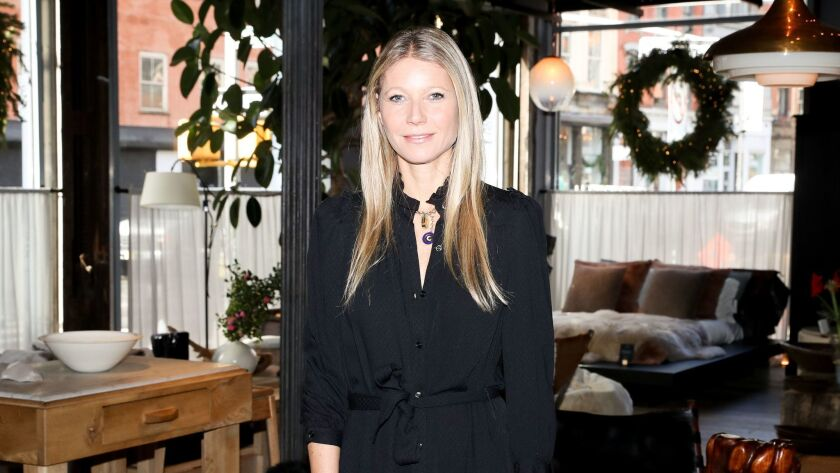 Gwyneth Paltrow at a Goop event in November.
