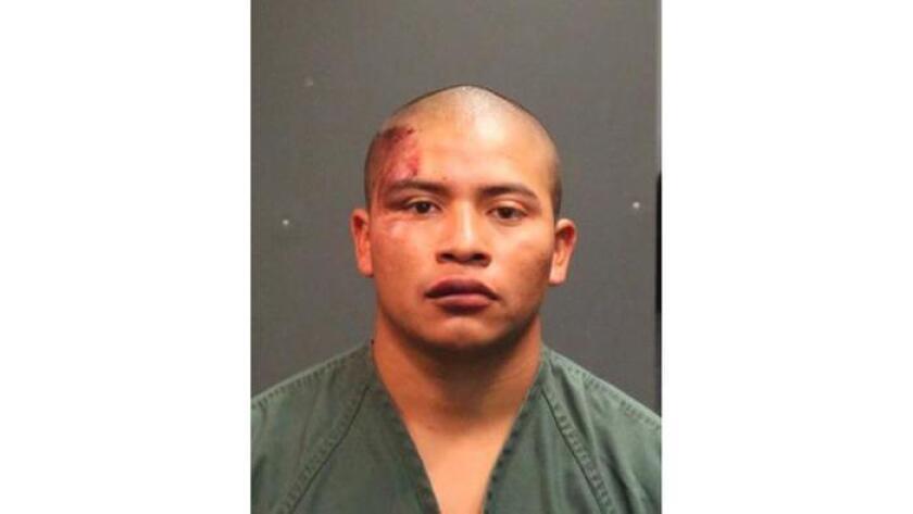 Rosendo Xo Pec, de 22 años, fue acusado de asesinato. El cargo lleva una alegación de circunstancia especial porque el asesinato ocurrió durante un ataque sexual. (Departamento de Policía de Santa Ana)