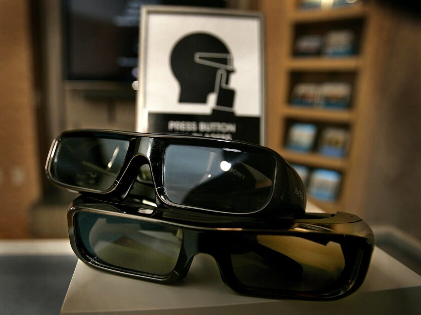 The Sony 3D Active Shutter Glasses are part of the company's big push into three-dimensional technology.