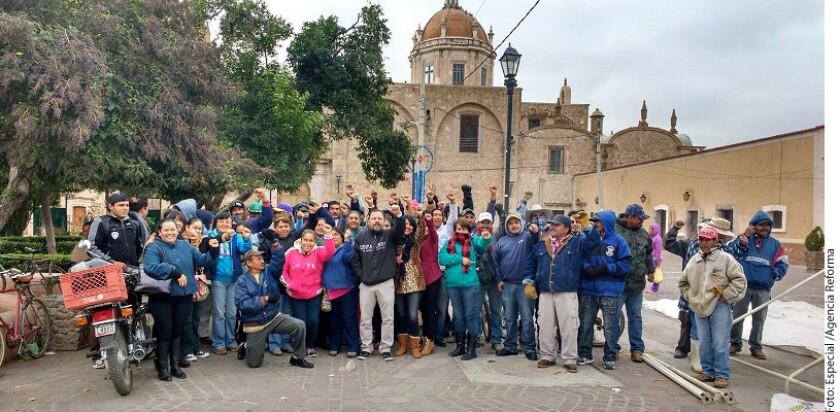 Foto de archivo de la alcaldía de Ojocaliente, un poblado en el estado de Zacatecas.