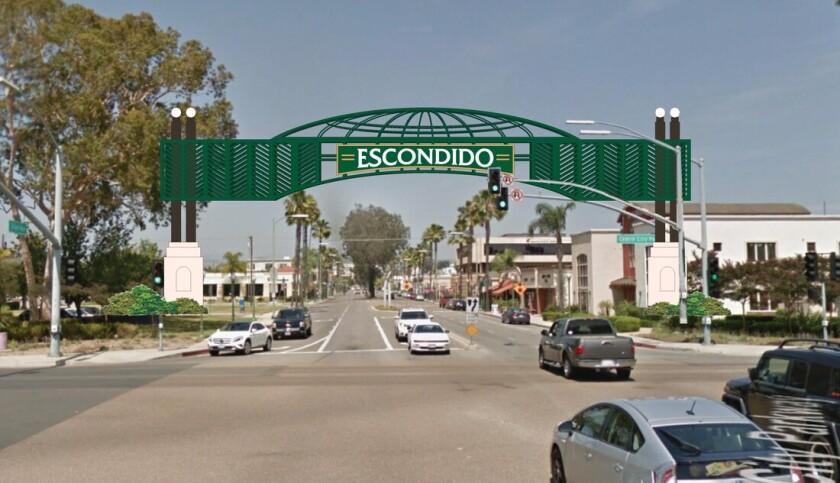 Escondido's Giving Arch,