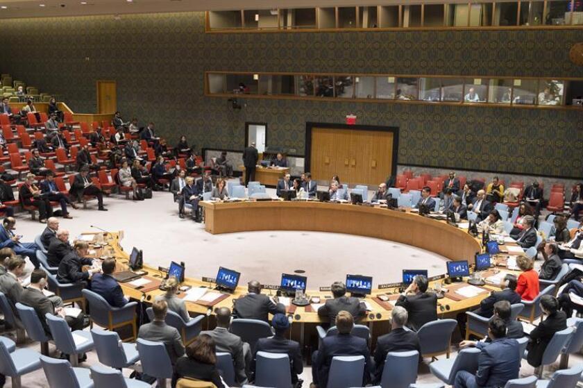 El Consejo de Seguridad de la ONU se reunirá el próximo viernes con el fin de analizar una respuesta ante el anuncio de Estados Unidos de que reconocerá a Jerusalén como capital de Israel. EFE/Rick Bajornas/ONU/SOLO USO EDITORIAL/NO VENTAS[SOLO USO EDITORIAL/NO VENTAS]