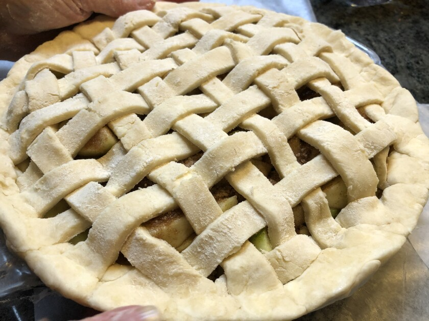 The pie from scratch was a family sensation.