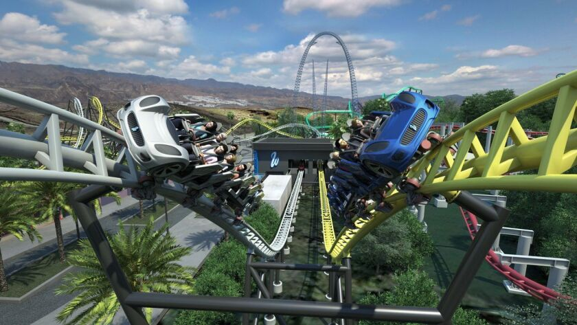 Top 10 thrill rides and attractions coming to U.S. theme parks in 2019 -  Los Angeles Times