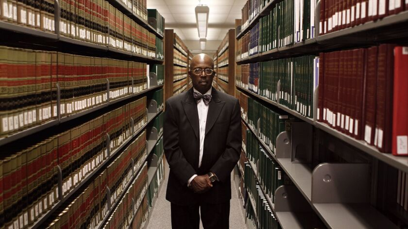 Gilbert Holmes, dean of LaVerne College of Law, is one of 80 law school administrators who requested an investigation of the 2014 bar after seeing a decrease in the number of people who passed. He is pictured here in Ontario, Calif. on Dec. 4, 2014.