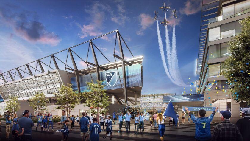 A 30,000-seat Major League Soccer stadium