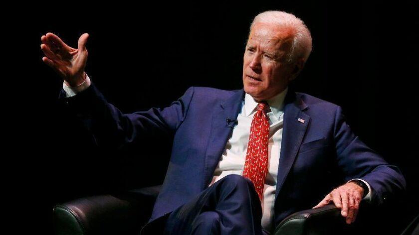 Former Vice President Joe Biden speaks in Utah last month.