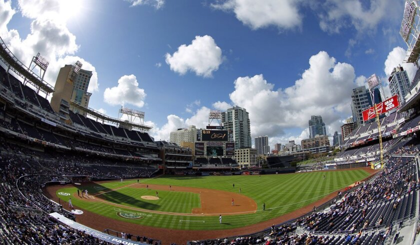 The fences will be coming in at Petco Park.