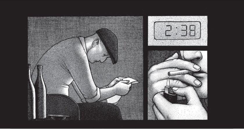 Detail of a comic by Nina Bunjevac