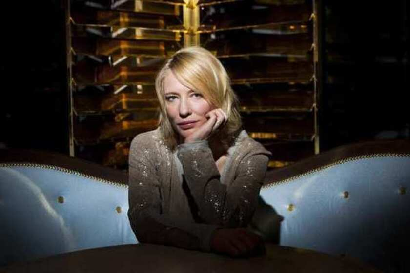 Cate Blanchett at the London Hotel in West Hollywood.
