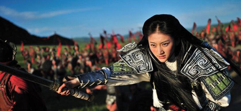"""Jing Tian stars as Tian Xi in """"The Warring States."""""""