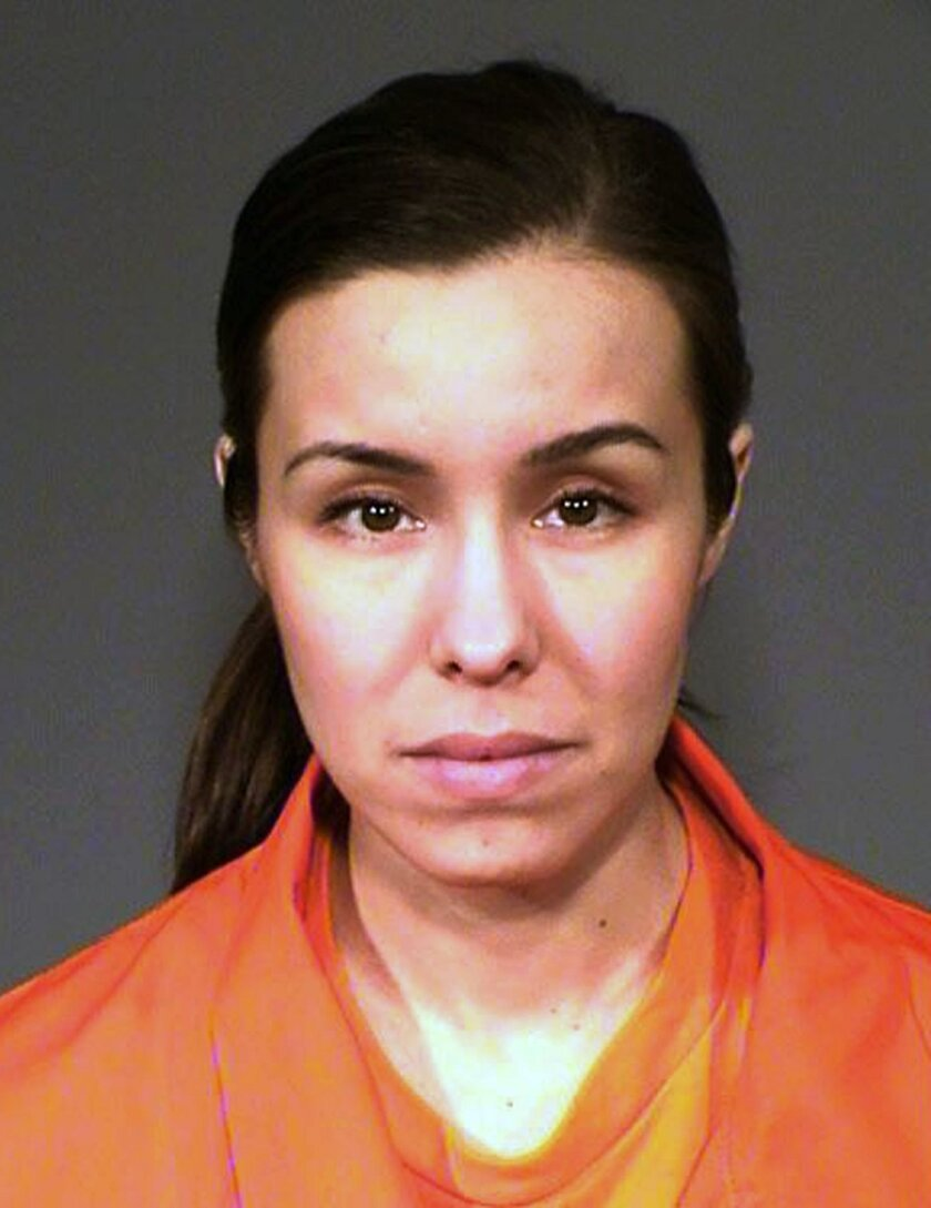 This undated booking photo provided by the Arizona Department of Corrections shows Jodi Arias. A judge sentenced Arias, a convicted murderer, to life in prison without the possibility of release, ending a nearly seven-year-old case that attracted worldwide attention with its salacious details. (Arizona Department of Corrections via AP)