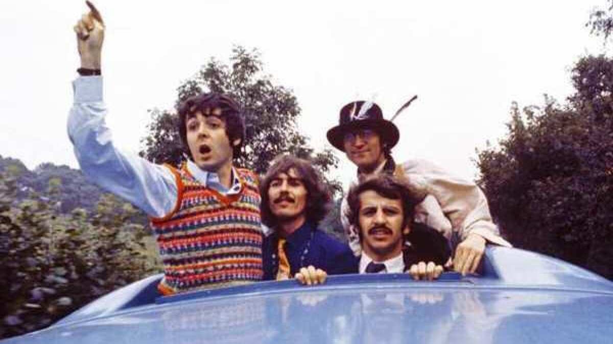 The Beatles 'Magical Mystery Tour' coming to home video on Oct. 8 - Los  Angeles Times