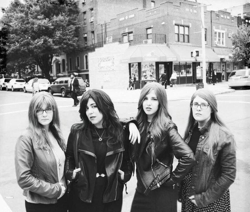 Bulletproof Stockings (from left): Dana Pestun, Dalia Shusterman, Perl Wolfe and Elisheva Maister.