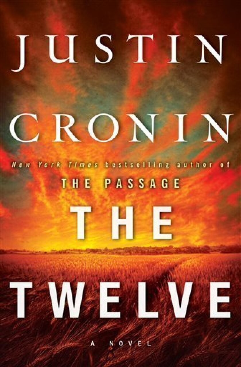 "This book cover image released by Ballantine shows ""The Twelve,"" by Justin Cronin. (AP Photo/Ballantine)"