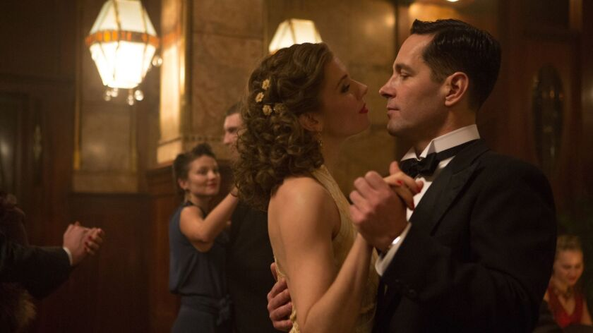 """(L-R) - Paul Rudd and Sienna Miller appear in """"The Catcher Was A Spy"""" by Ben Lewin, an official sele"""