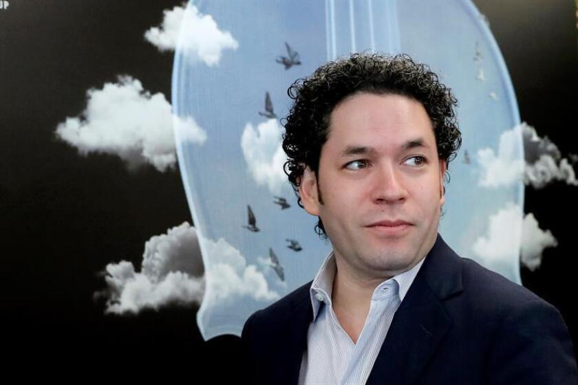 El director de orquesta Gustavo Dudamel. EFE/Archivo