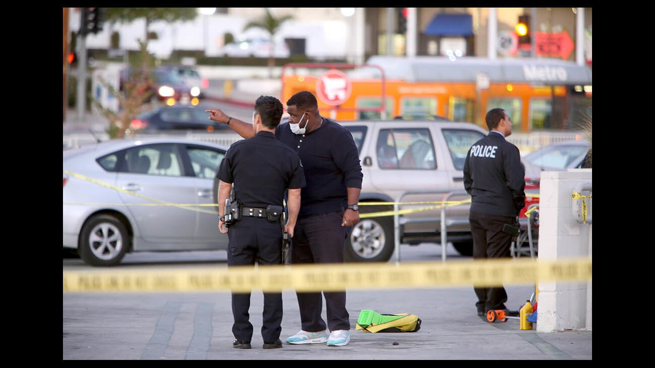 Photo Gallery: Glendale police investigate officer-involved shooting at Eagle Rock Target