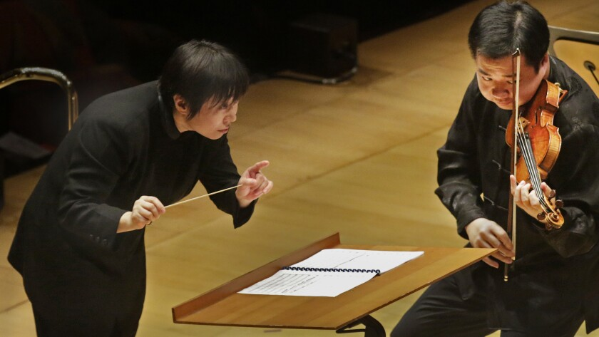 The Los Angeles Phil celebrated Chinese New Year with a remarkable meeting of East and West musicianship