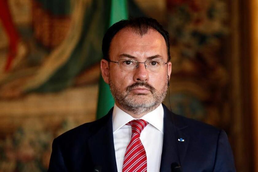 El canciller mexicano, Luis Videgaray, visitará el Vaticano para participar en un coloquio bilateral sobre temas de migración internacional, informó hoy la Secretaría de Relaciones Exteriores (SRE) de México. EFE/ARCHIVO