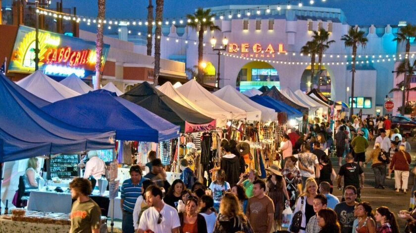 A street fair in downtown Oceanside shows off the city's budding cultural activities.
