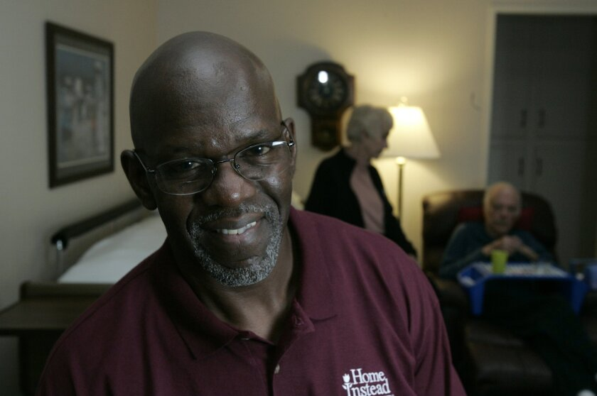 Arthur Bennett works for Home Instead Senior Care where he provides a variety of nonmedical services to clients.