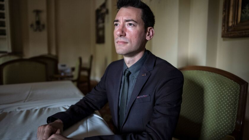 David Daleiden, founder of the Center for Medical Progress, in a 2015 file photo.