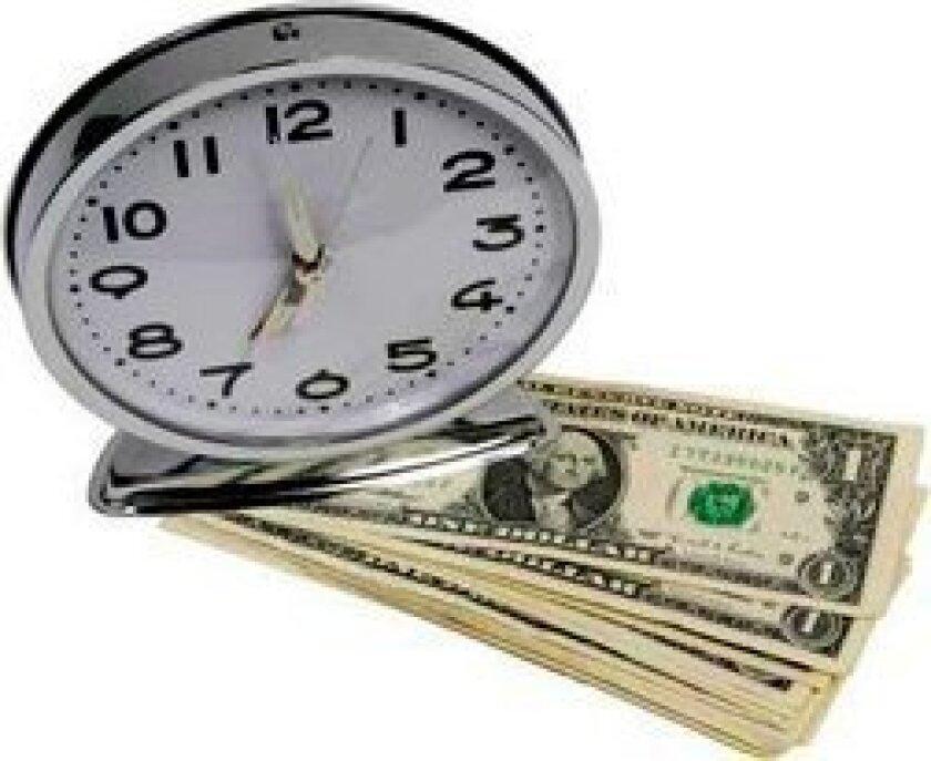 clock-dollars