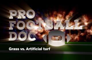 Pro Football Doc: Grass vs. Artificial turf