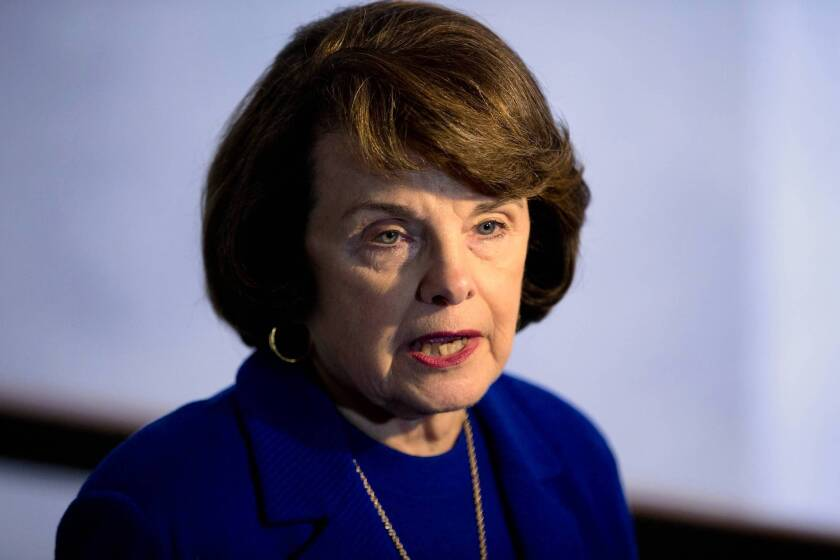 """""""I've looked at bodies that have been shot with these weapons,"""" the bill's chief sponsor, Sen. Dianne Feinstein, told Senate Judiciary Committee colleagues. """"How many times does this have to happen?"""""""