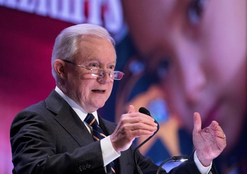 El fiscal general de Estados Unidos, Jeff Sessions. EFE/EPA/Archivo