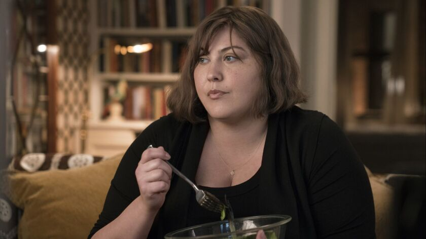 "Joy Nash as Plum Kettle in a scene from ""Dietland"" Credit: Patrick Harbron/AMC"