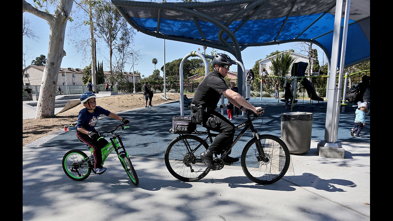"""Photo gallery: Glendale Police Department's inaugural """"Shields on the Field"""" at Palmer Park"""