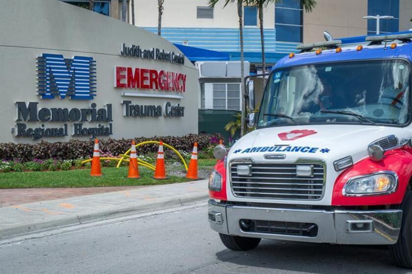 Un niño de tres años se encuentra hospitalizado en estado crítico tras recibir un tiro en la cabeza tras un altercado de carretera en la localidad de Port St. Lucie, en la costa este de Florida, informaron hoy medios locales. EFE/Archivo