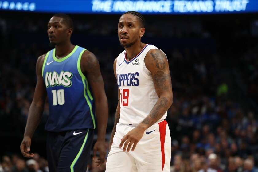 Clippers guard Rodney McGruder (19)