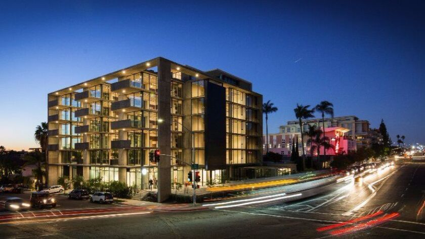 A mixed-use development on the corner of Park and Robinson building by architect-developer Jonathan Segal.
