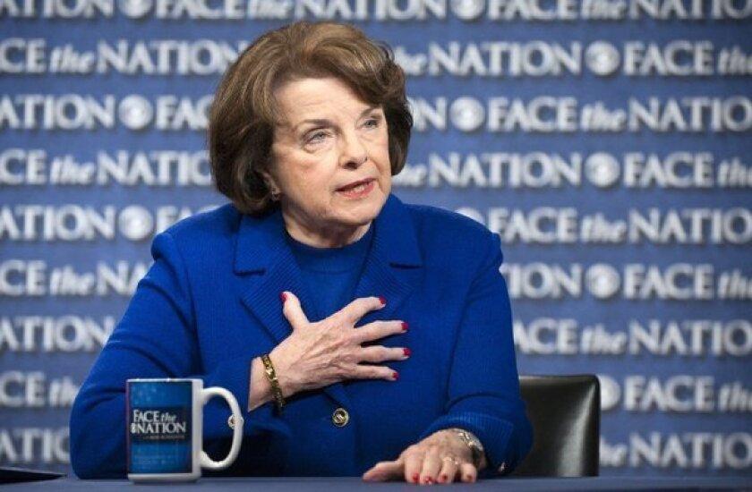 Sen. Dianne Feinstein (D-Calif). is chairwoman of the Senate Intelligence Committee.