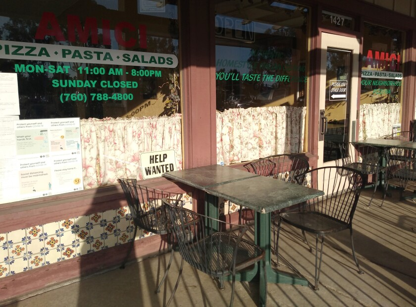 Rising prices and supply shortages contributed to Amici's closure on Aug. 28.
