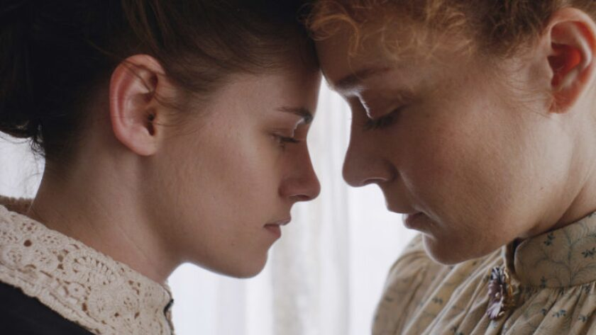 """Kristen Stewart and Chloë Sevigny in """"Lizzy,"""" a new look at the Lizzie Borden story."""