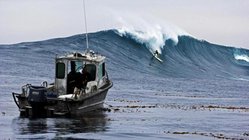 Jo Jo Roper at Todos Santos Island off the coast of Ensenada. (Courtesy photo)