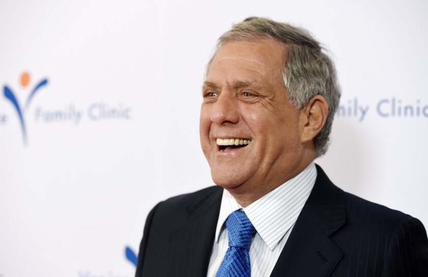 No laughing matter? CBS Chairman and CEO Les Moonves thinks Donald Trump has been great for his company
