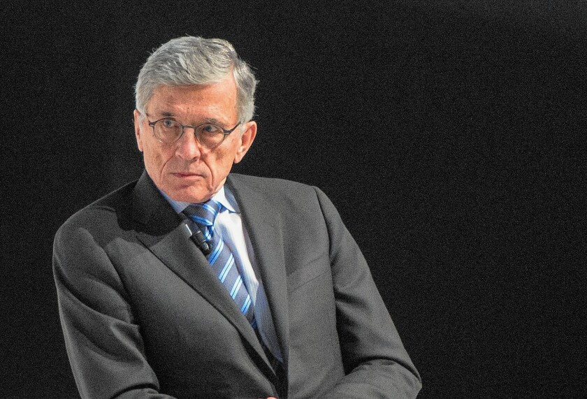 FCC Chairman Tom Wheeler gives keynote address