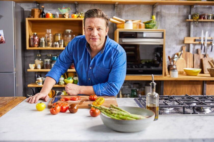 """They're dishes that make me feel energized, comforted, complete and full up,"" says chef Jamie Oliver about the recipes in his latest cookbook, ""Ultimate Veg."""