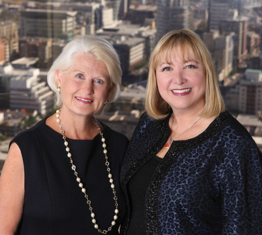 Only two women have been University Club presidents: Ann Beard (1996-98) and Julie Walke (2008-present).