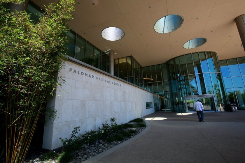 """The new Palomar Medical Center in western Escondido is billed as the """"hospital of the future."""""""