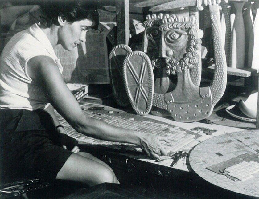 Evelyn Ackerman dies at 88; California modernism artist, designer
