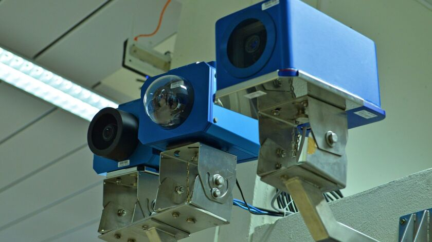 The IAEA uses cameras such as these to carry out around-the-clock monitoring of Iran's declared nucl