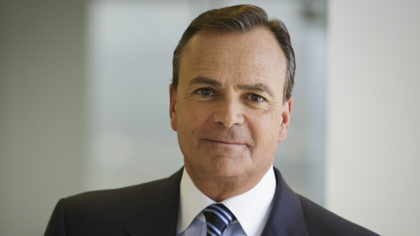 Billionaire real estate developer Rick Caruso told The Times he would be interested in buying the Clippers if owner Donald Sterling put the team up for sale.