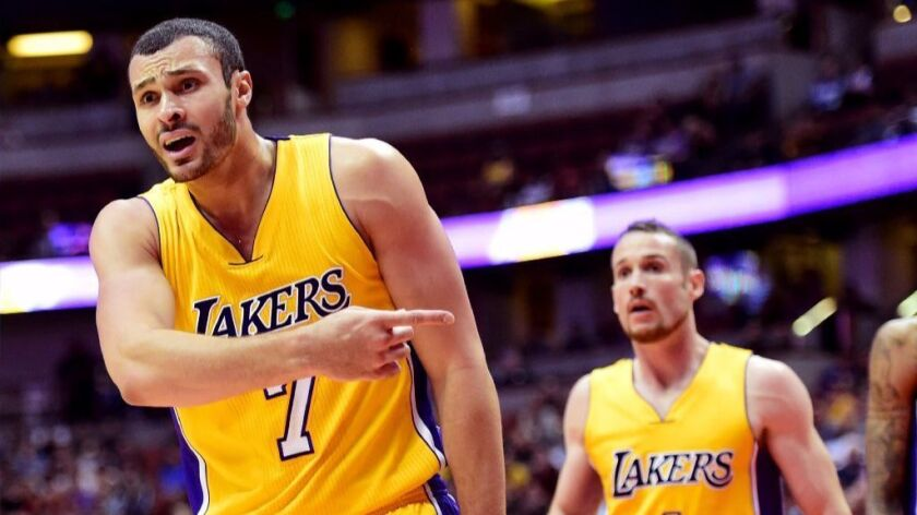 Lakers' Larry Nance Jr. in NBA's concussion protocol