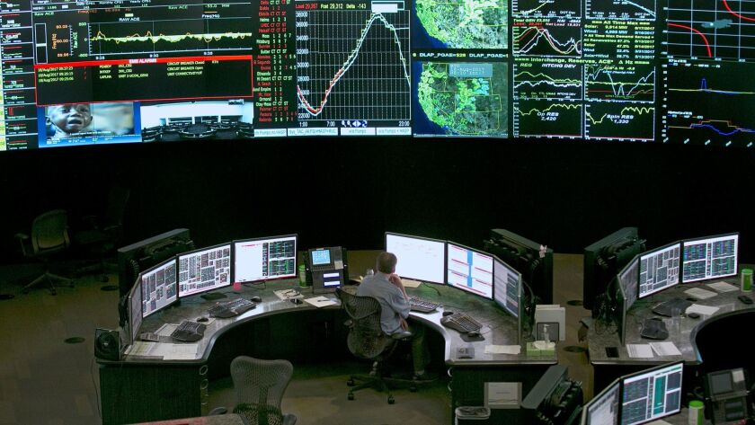 The California Independent System Operator, which manages most of the state's electricity grid, woul